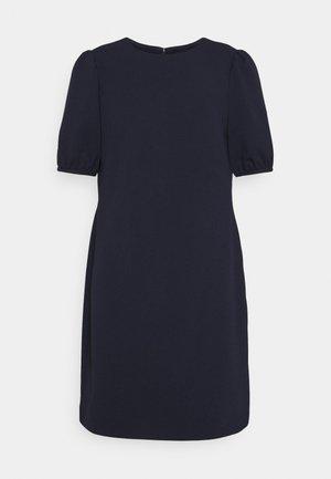 LUXE TECH DRESS - Pouzdrové šaty - lighthouse navy