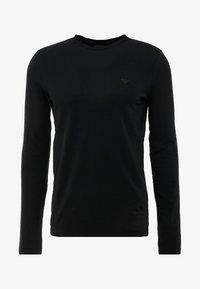 Emporio Armani - Maglietta a manica lunga - nero - 3