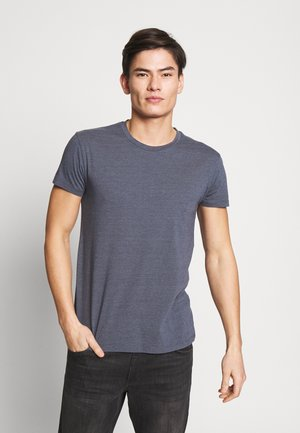 KRONOS STRIPE - Print T-shirt - dark grey