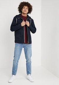 REVOLUTION - HOODED JACKET - Summer jacket - navy - 1