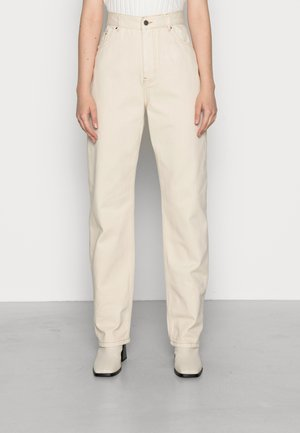 Relaxed fit jeans - offwhite