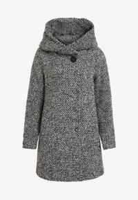 Vila - Short coat - light grey melange - 5