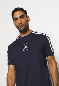adidas Performance - SPORTSWEAR SHORT SLEEVE TEE - T-Shirt print - legend ink - 4