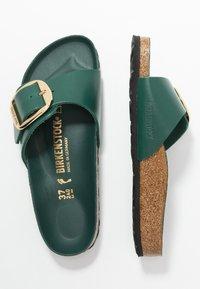Birkenstock - MADRID BIG BUCKLE - Slippers - dark green - 3