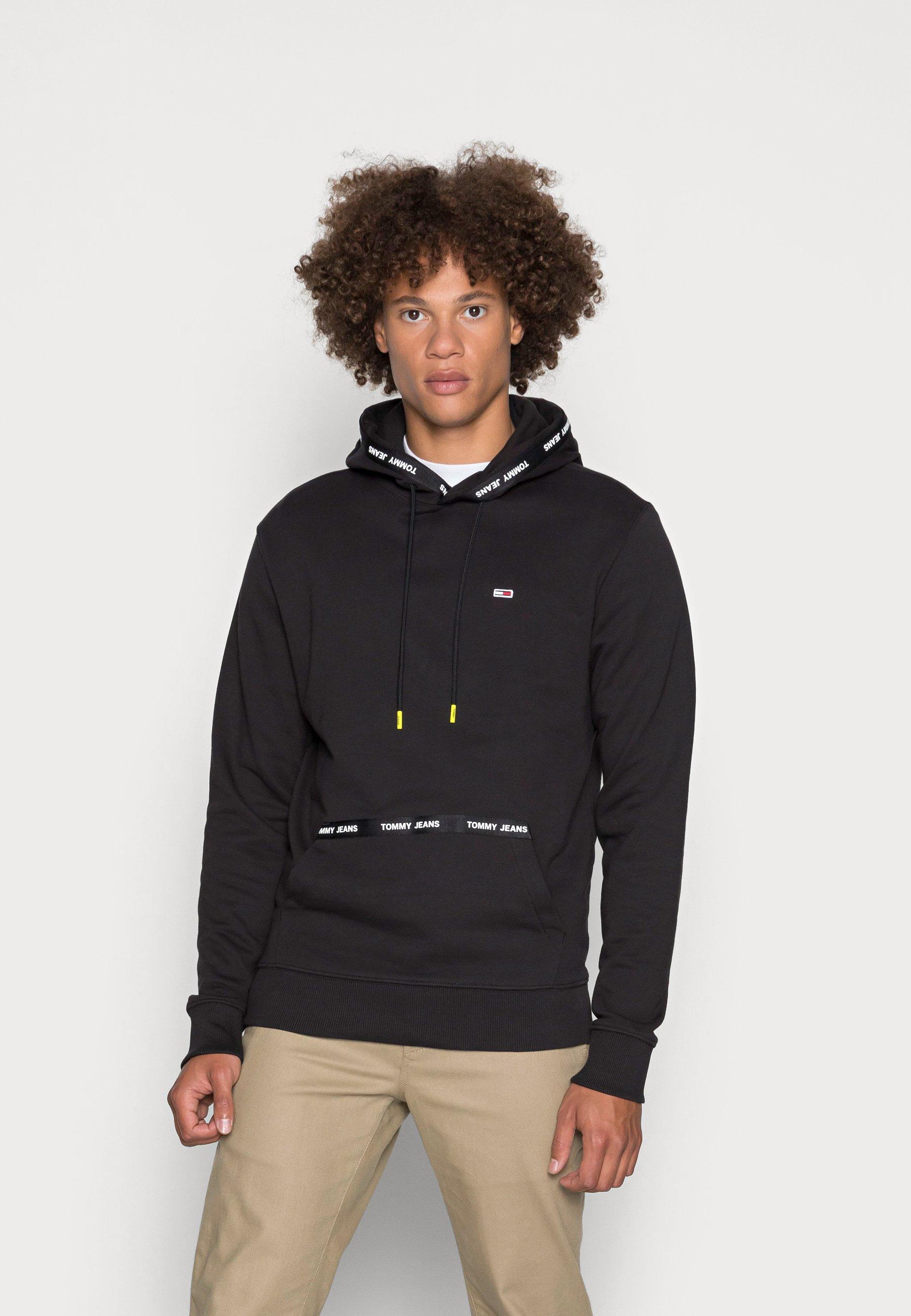 Men BRANDED TAPE HOODIE - Sweatshirt