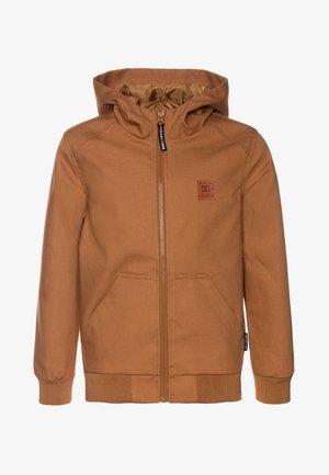 ELLIS LIGHT BOY - Waterproof jacket - wheat
