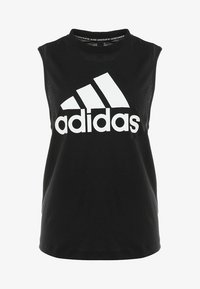 MUST HAVES SPORT REGULAR FIT TANK TOP - Funkční triko - black