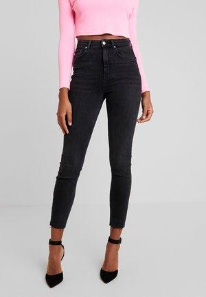 ZOEY HIGHWAIST - Jeans Skinny Fit - black/grey
