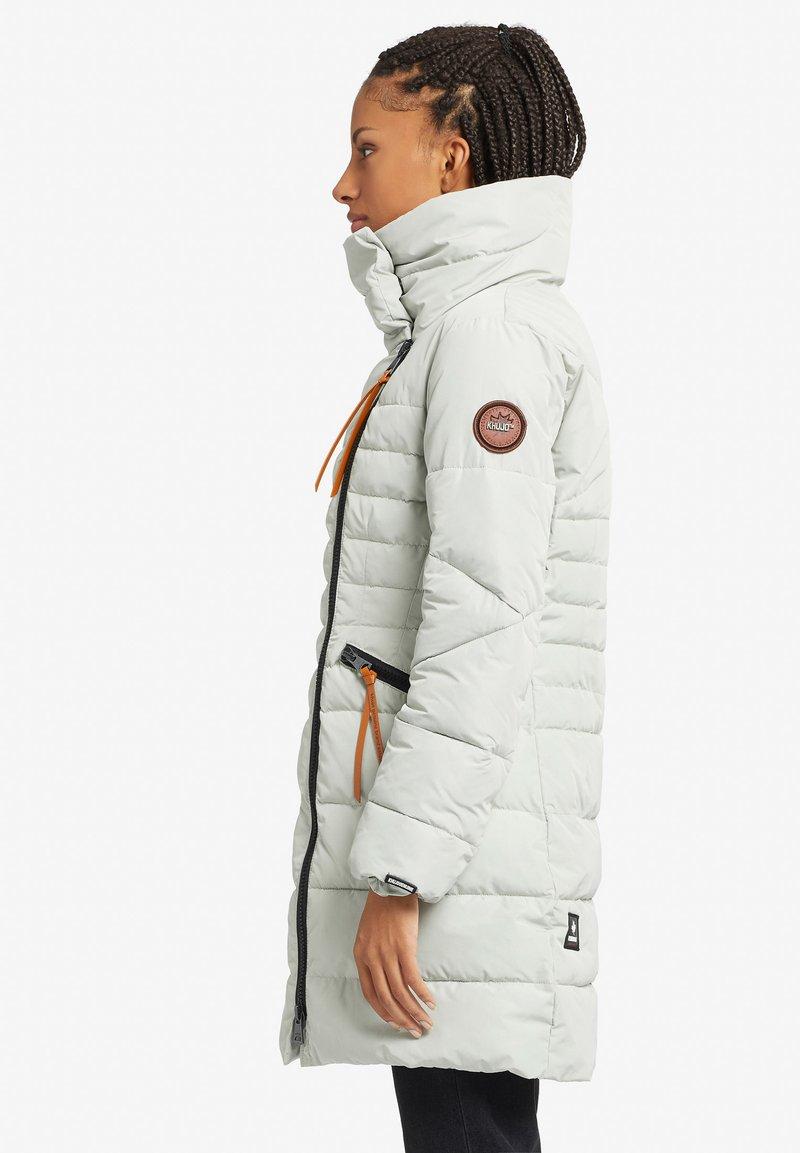 khujo MINNI - Wintermantel - off-white/offwhite QDPv4E