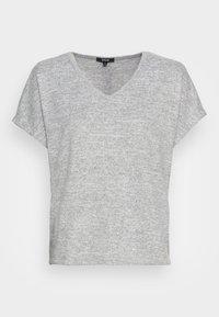 Opus - SABLET - Basic T-shirt - easy grey - 3