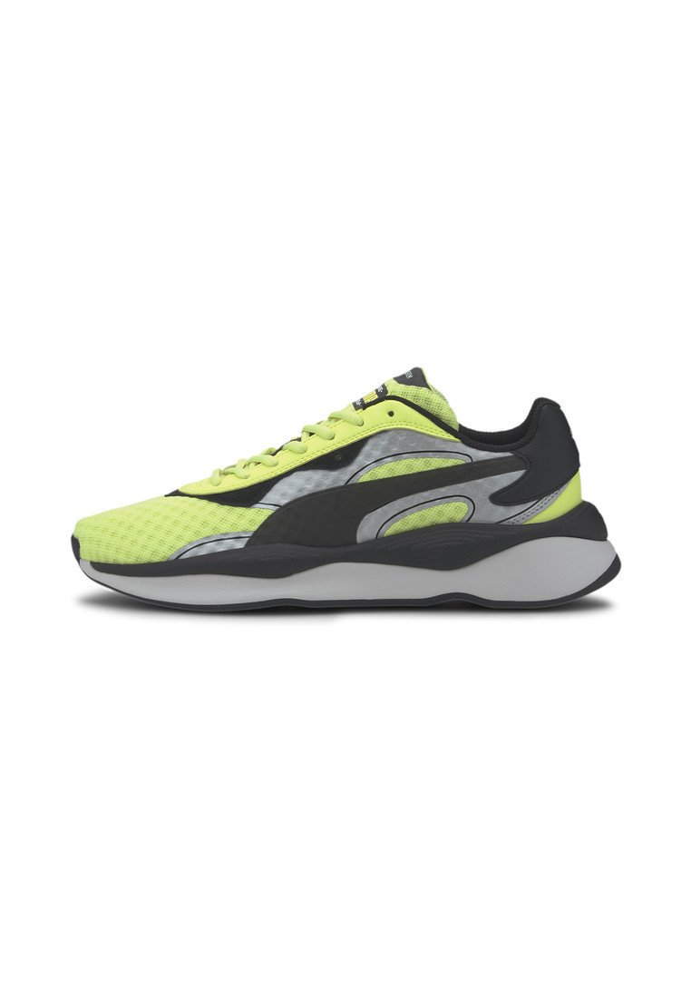 Puma - Trainers - fizzy yellow- silver