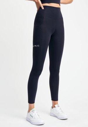 STENCIL ACTIVE - Leggings - Trousers - z noir
