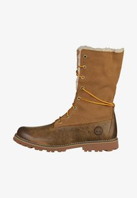 Timberland - Lace-up ankle boots - dark sudan - 0
