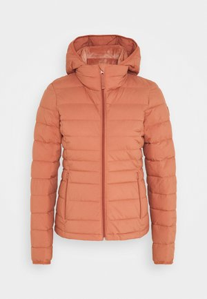 PACKABLE PUFFER POLY - Light jacket - cedarwood