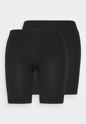 ONLVICKY SEAMLESS 2 PACK - Shorts - black
