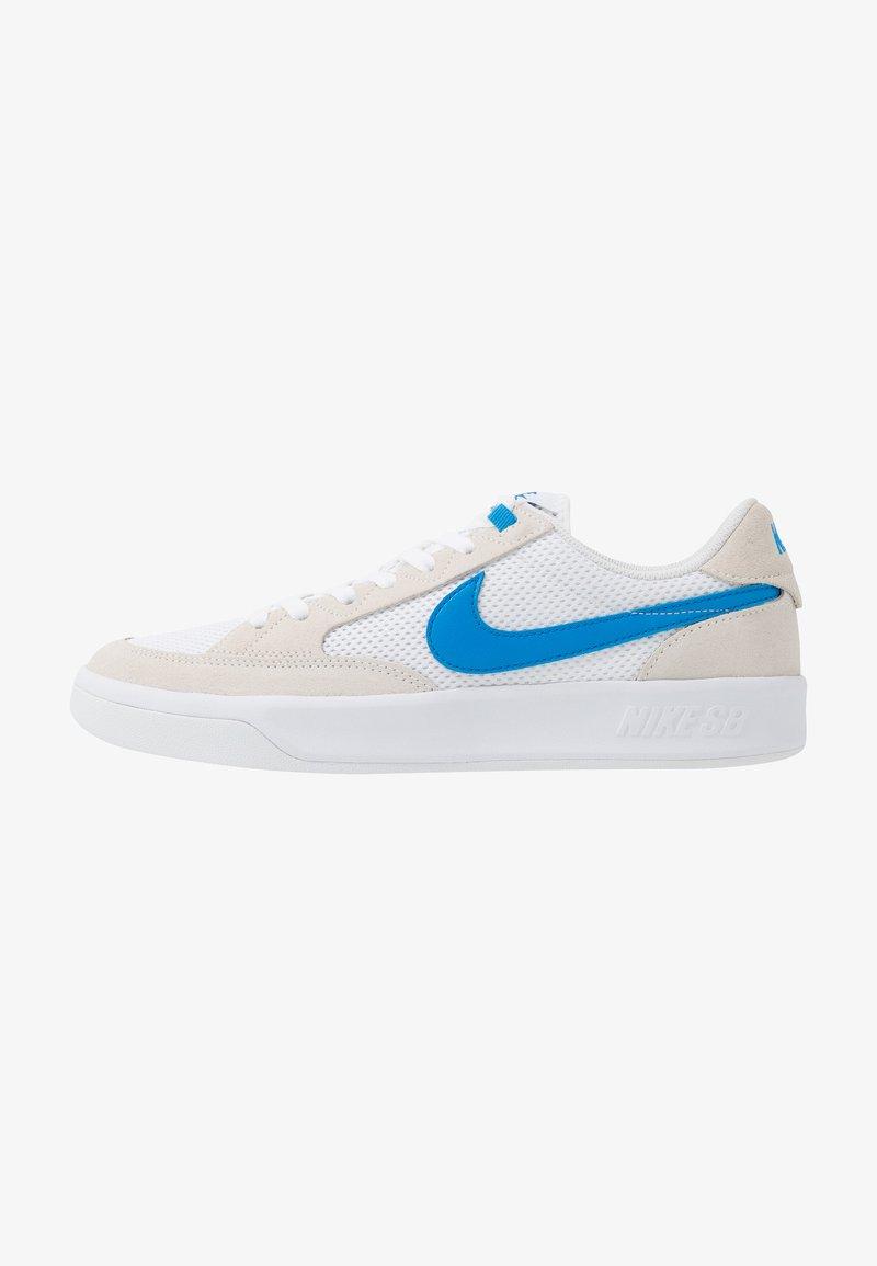 Nike SB - ADVERSARY UNISEX - Skate shoes - white/photo blue