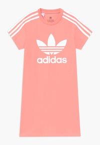 adidas Originals - SKATER DRESS - Jersey dress - pink/white - 0