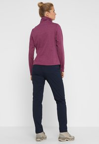 Jack Wolfskin - DESERT ROLL UP PANTS - Outdoorbroeken - midnight blue - 2