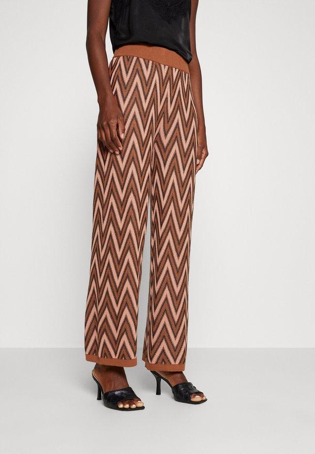 HAWAR CULOTTE PANTS - Trousers - light brown