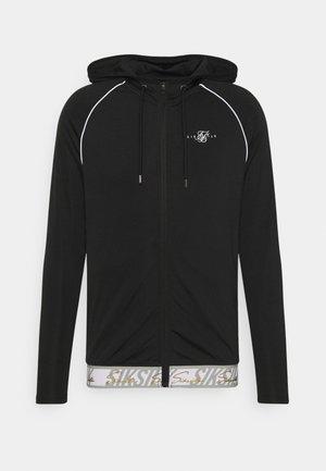 SCOPE SIGNATURE TAPE ZIP THROUGH HOODIE - Training jacket - black