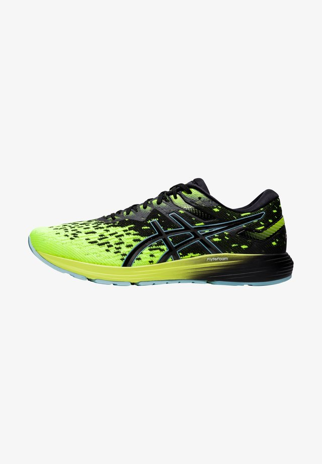 Sneakers laag - black/safety yellow
