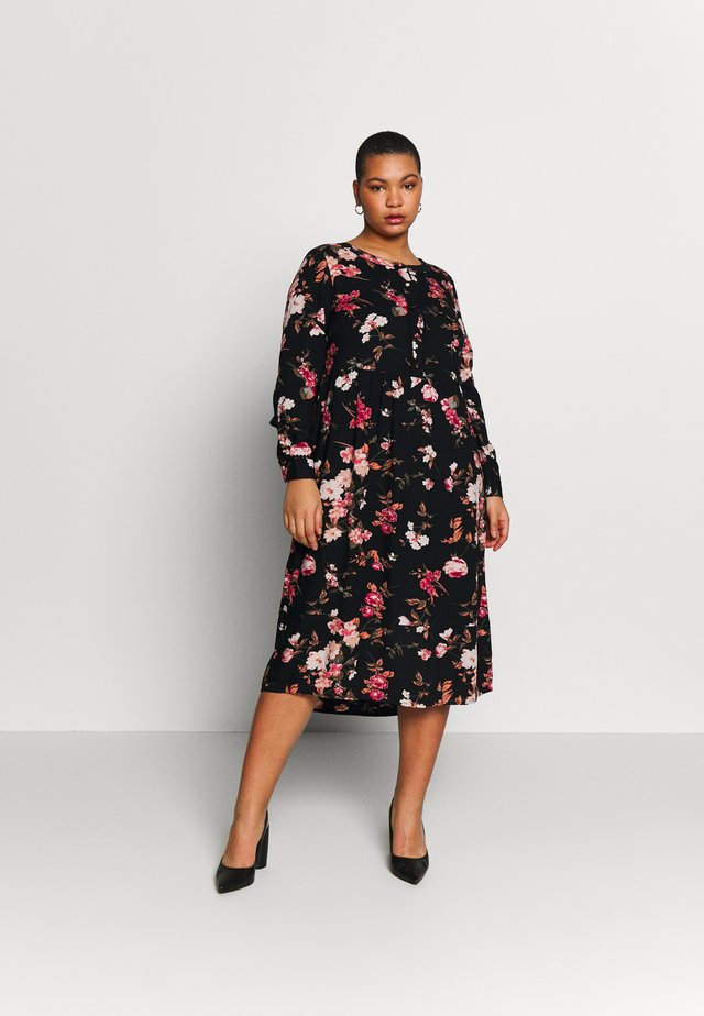 YELMA DRESS - Shirt dress - black