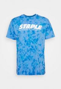 STAPLE PIGEON - LOGO TEE UNISEX - Print T-shirt - blue - 5
