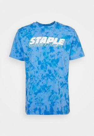 LOGO TEE UNISEX - Camiseta estampada - blue
