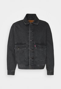 Levi's® - WORK TRUCKER - Denim jacket - blacks - 0