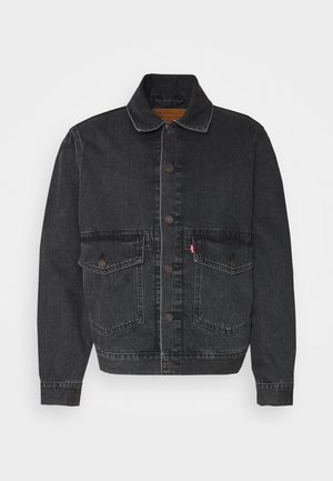 WORK TRUCKER - Kurtka jeansowa - blacks