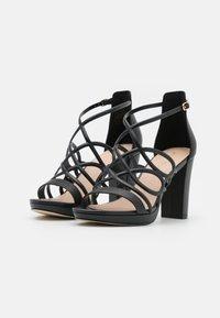 Anna Field - LEATHER - High heeled sandals - black - 2