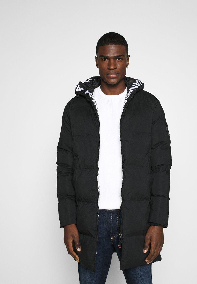 Alessandro Zavetti - ZAVETTI CANADA SALVINO LONGLINE PUFFER - Winter coat - black