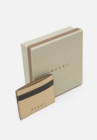 Marni - WALLET UNISEX - Wallet - black/cement - 3