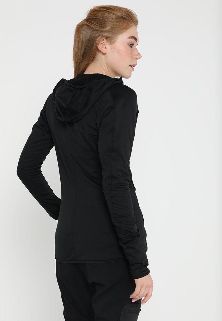 adidas Performance TERREX TRACEROCKER HOODED HIKING FLEECE - Fleece jacket - black AE4qS