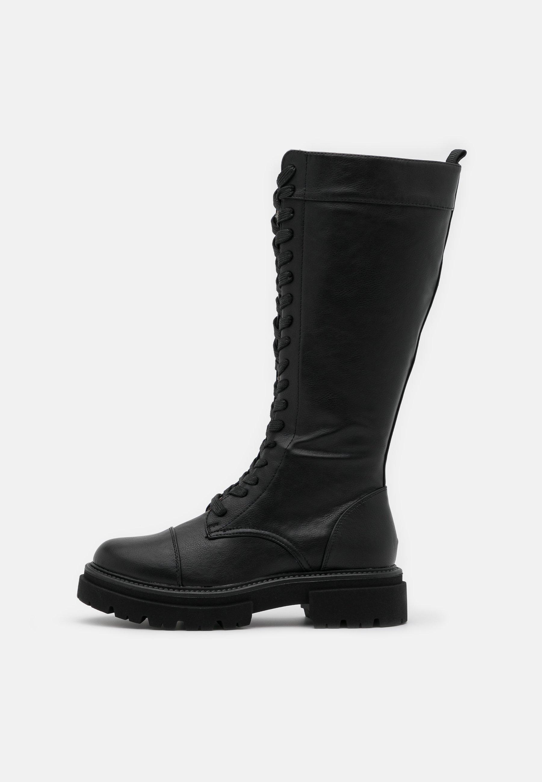 Even&odd Platåstøvler - Black/svart
