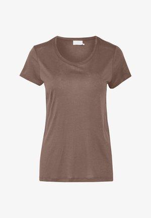 ANNA - Basic T-shirt - ermine