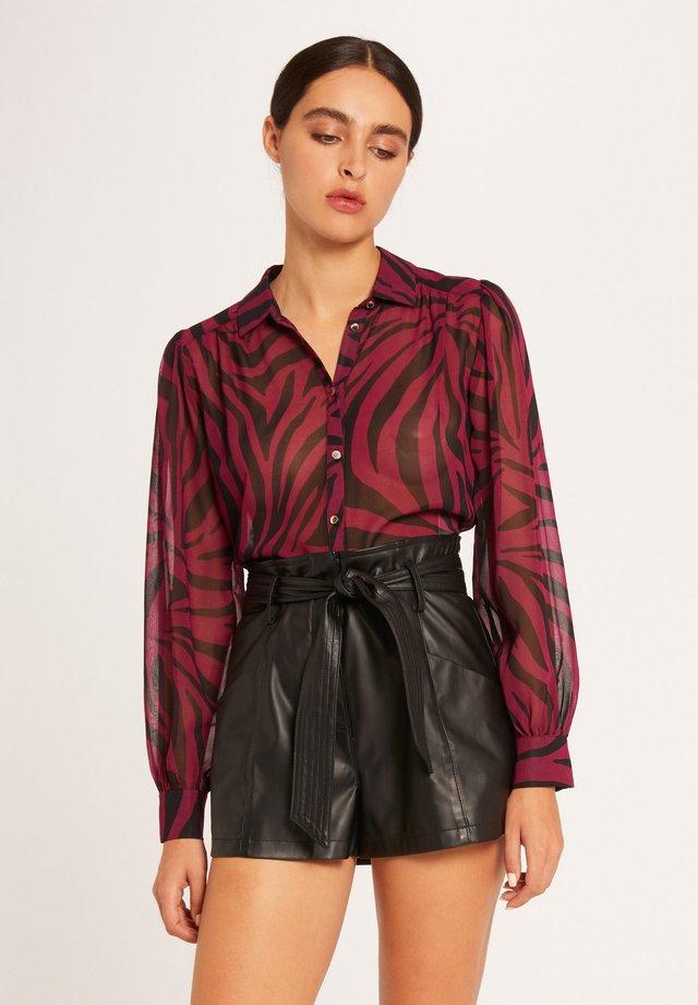Camisa - mottled pink