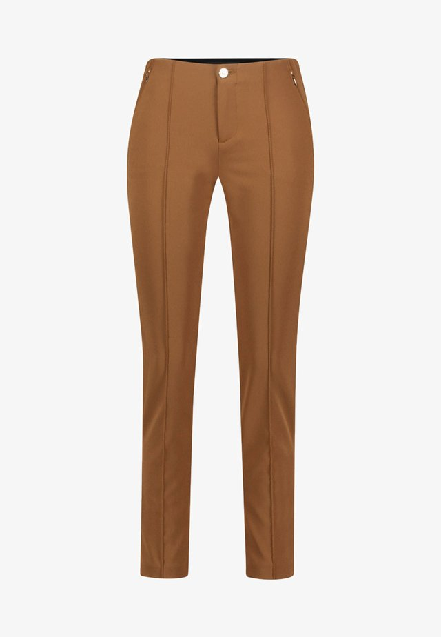 ANNA - Trousers - brown