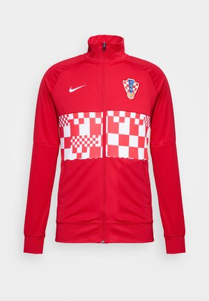 KROATIEN - Training jacket - university red/white