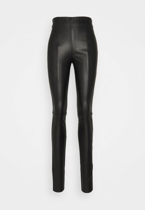 VMSOLANIMA COATED LEGGING - Leggingsit - black