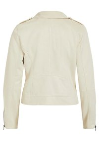 Vila - Faux leather jacket - birch - 6
