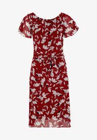 comma - MIT SOMMERLICHEM ALLOVERPRINT - Day dress - brick - 4
