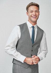 Next - TEXTURED - Suit waistcoat - grey - 0