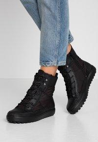 ECCO - SOFT TRED - Zimní obuv - black - 0