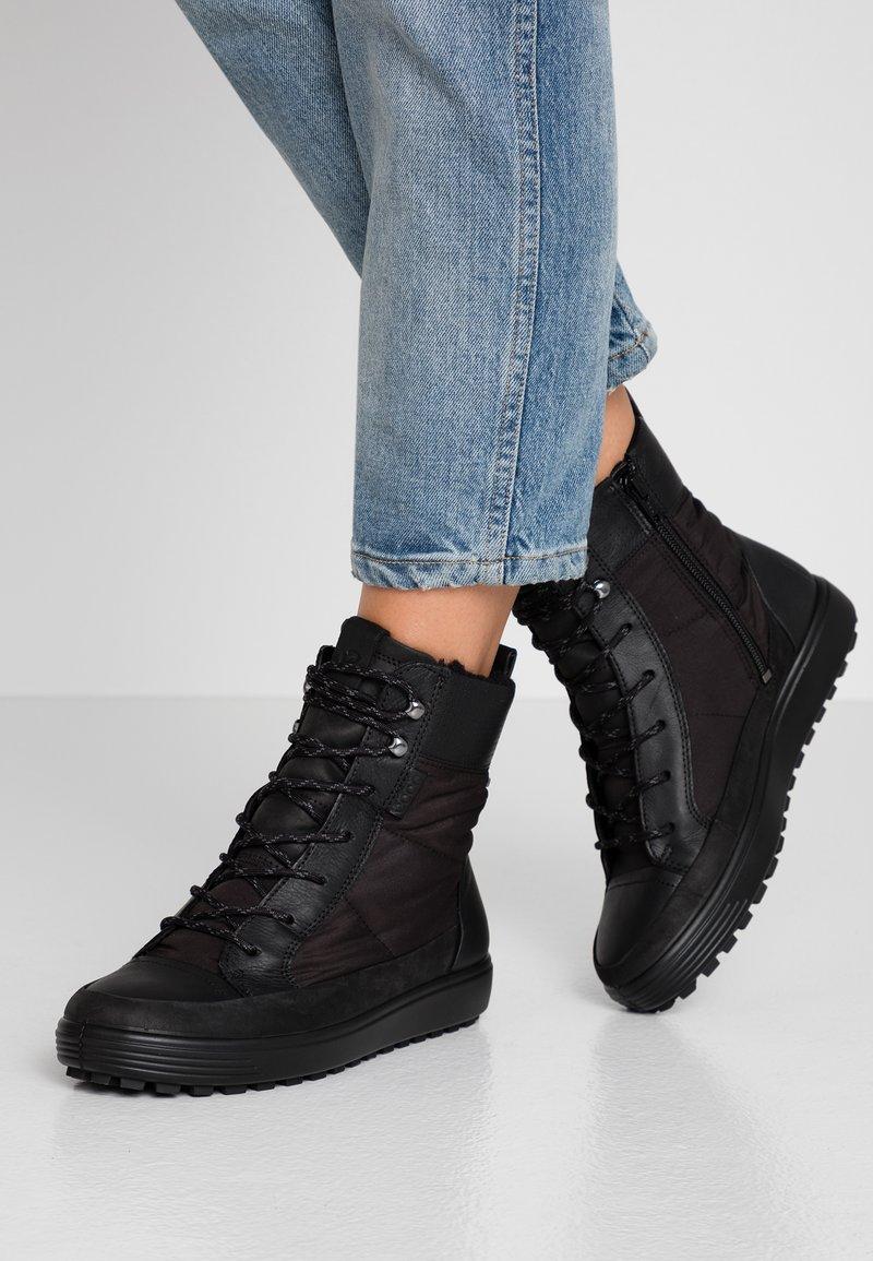 ECCO - SOFT TRED - Zimní obuv - black