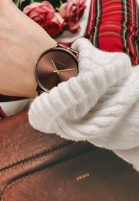 Burker - UHR NANCY  - Horloge - brown - 0
