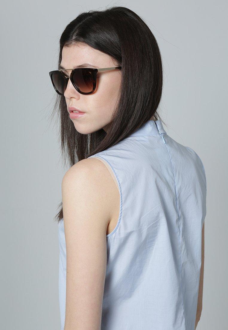 Prada - Okulary przeciwsłoneczne - brown/gold