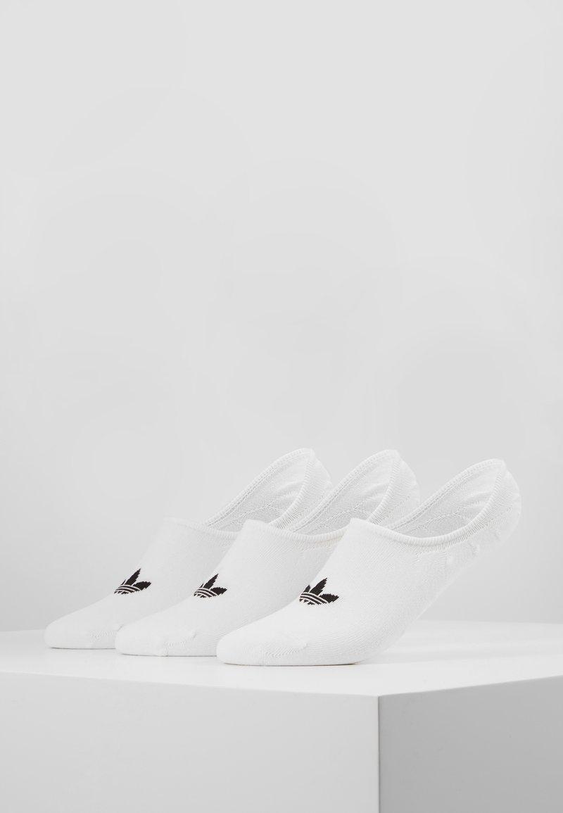 adidas Originals - LOW CUT SOCK 3 PACK - Chaussettes - white