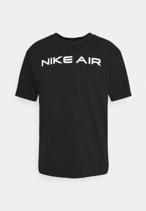 T-shirt med print - black