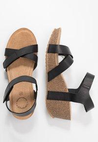 Ca'Shott - Platform sandals - black - 3